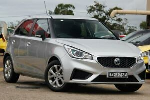 2019 MG MG3 SZP1 MY18 Core Silver 4 Speed Automatic Hatchback Gateshead Lake Macquarie Area Preview