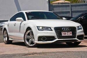 2013 Audi A7 4G (No Badge) White Sports Automatic Dual Clutch
