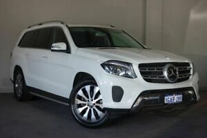 2016 Mercedes-Benz GLS350 X166 d 9G-Tronic 4MATIC White 9 Speed Sports Automatic Wagon Bayswater Bayswater Area Preview