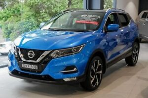 2018 Nissan Qashqai J11 Series 2 Ti X-tronic Blue 1 Speed Constant Variable Wagon Chatswood Willoughby Area Preview