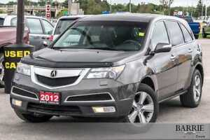 2012 Acura Acura MDX ***TECH PACKAGE***NAVI***POWER ROOF***