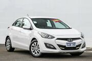 2013 Hyundai i30 GD Active White 6 Speed Sports Automatic Hatchback Maddington Gosnells Area Preview