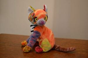 """Ty Beanie Baby """"Kaleidoscope"""" Cat (+ more toys for sale)"""