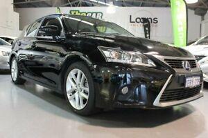 2015 Lexus CT 200H. Hybrid ZWA10R MY15 Luxury Black Continuous Variable Hatchback Victoria Park Victoria Park Area Preview