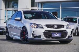 2015 Holden Commodore VF II MY16 SS V Redline White 6 Speed Manual Sedan Morley Bayswater Area Preview