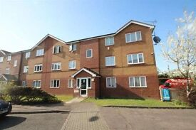 1 double bedroom purpose built flat available to let in Carpenters Court, Lewis way. Dagenham,RM10.