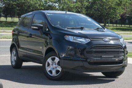 2014 Ford Ecosport BK Ambiente Black 5 Speed Manual Wagon Pearce Woden Valley Preview