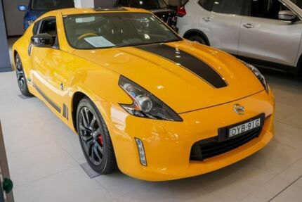 2018 Nissan 370Z Z34 MY18 N-Sport Yellow 7 Speed Sports Automatic Coupe Chatswood Willoughby Area Preview