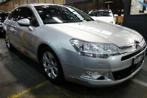 2010 Citroen C5 X7 MY10 Comfort HDi Silver 6 Speed Sports Automatic Sedan Port Melbourne Port Phillip Preview