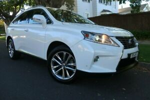 2013 Lexus RX GGL15R RX350 Sports Luxury White 6 Speed Sports Automatic Wagon Prospect Prospect Area Preview