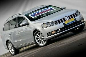 2012 Volkswagen Passat Type 3C MY13 125TDI DSG Highline Silver 6 Speed Sports Automatic Dual Clutch Ferntree Gully Knox Area Preview