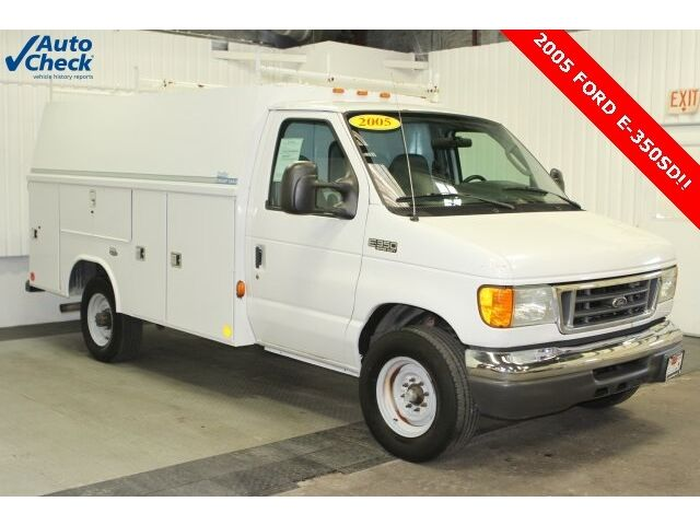 2005 Ford E350 Reading Utility Body Ready For Work Save