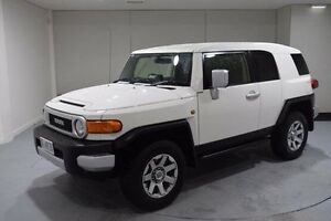2014 Toyota FJ Cruiser GSJ15R MY14 White 5 Speed Automatic Wagon South Launceston Launceston Area Preview