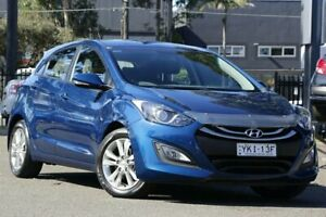 2014 Hyundai i30 GD2 MY14 SE Blue 6 Speed Sports Automatic Hatchback Condell Park Bankstown Area Preview
