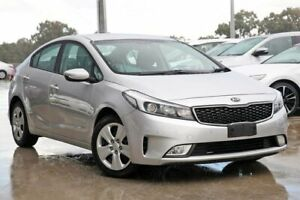 2017 Kia Cerato YD MY18 S Silky Silver 6 Speed Sports Automatic Sedan