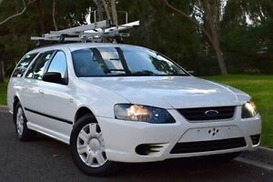 2010 Ford Falcon BF Mk III XT White 4 Speed Sports Automatic Wagon St Marys Mitcham Area Preview