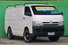 2006 Toyota Hiace KDH200R LWB White 5 Speed Manual Van Ringwood East Maroondah Area Preview