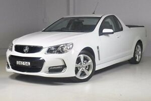 2015 Holden Ute VF II MY16 SV6 Ute White 6 Speed Sports Automatic Utility Wadalba Wyong Area Preview