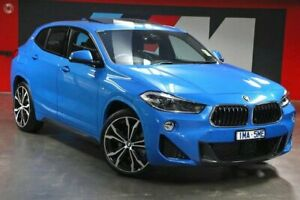 2018 BMW X2 F39 xDrive20d Coupe Steptronic AWD M Sport Blue 8 Speed Sports Automatic Wagon South Melbourne Port Phillip Preview