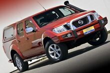2010 Nissan Navara D40 MY10 ST-X Red 5 Speed Automatic Utility Ferntree Gully Knox Area Preview