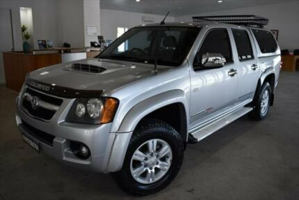 2011 Holden Colorado RC MY11 LT-R Crew Cab Silver 5 Speed Manual Utility Port Macquarie Port Macquarie City Preview