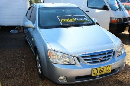 2004 Kia Cerato LD MY04 Blue 5 Speed Manual Sedan Colyton Penrith Area Preview