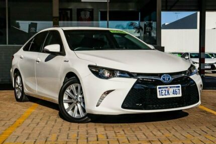 2016 Toyota Camry AVV50R Atara S White 1 Speed Constant Variable Sedan Hybrid Morley Bayswater Area Preview