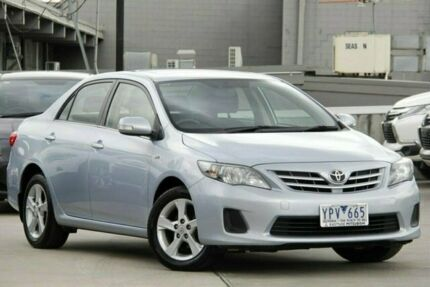 2011 Toyota Corolla ZRE152R MY11 Conquest Silver 4 Speed Automatic Sedan Nunawading Whitehorse Area Preview