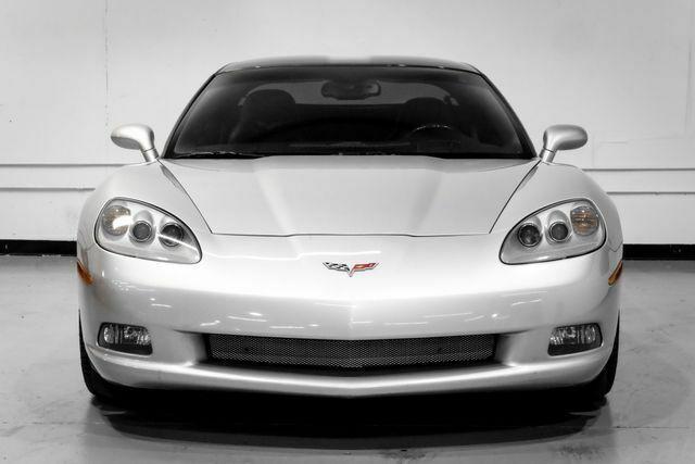 2008 Silver Chevrolet Corvette Coupe  | C6 Corvette Photo 5