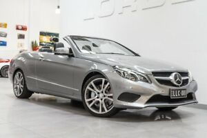 2013 Mercedes-Benz E400 207 MY13 Palladium Silver 7 Speed Automatic Cabriolet Port Melbourne Port Phillip Preview