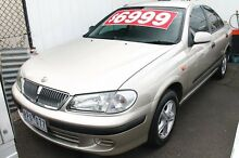 2002 Nissan Pulsar N16 ST Plus Gold Metallic 4 Speed Automatic Sedan Briar Hill Banyule Area Preview