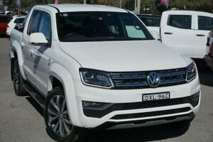 2018 Volkswagen Amarok 2H MY18 TDI580 4MOTION Perm Ultimate White 8 Speed Automatic Utility Phillip Woden Valley Preview