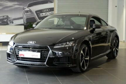 2017 Audi TT FV MY18 S Line S tronic quattro Black 6 Speed Sports Automatic Dual Clutch Coupe Southport Gold Coast City Preview