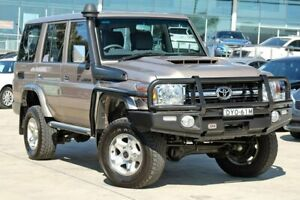 2016 Toyota Landcruiser VDJ76R GXL Gold 5 Speed Manual Wagon Castle Hill The Hills District Preview