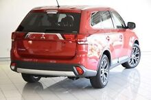 2016 Mitsubishi Outlander ZK MY16 LS 4WD Red 6 Speed Constant Variable Wagon Southport Gold Coast City Preview