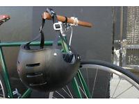 NEW bicycle helmet LAZER Dark wood BLACK size L(large) 59-61cm Street, Skate