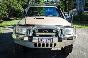 2010 Nissan Patrol GU 6 MY10 ST Gold 5 Speed Manual Cab Chassis Earlville Cairns City Preview