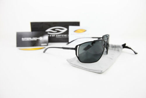 New Smith Optics Taggert Aviator Sunglasses Matte Black/Polarized Gray TGPPGYMB