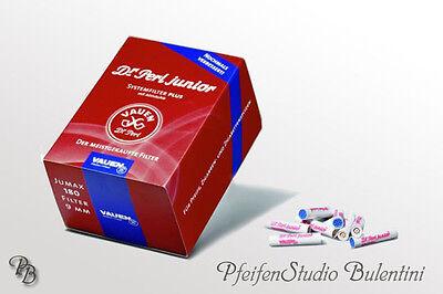 VAUEN Dr. Perl Aktivkohle-Filter Pfeife 9mm Filter System Qualität Pfeifenfilter