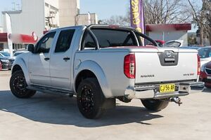 2011 Nissan Navara D40 MY11 ST-X 550 Silver 7 Speed Sports Automatic Utility Penrith Penrith Area Preview