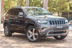 2015 Jeep Grand Cherokee WK MY15 Limited Granite Crystal Clear Coat 8 Speed Sports Automatic Wagon Greenacre Bankstown Area Preview