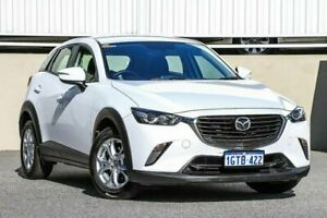 2015 Mazda CX-3 DK2W76 Maxx SKYACTIV-MT White Manual Wagon Cannington Canning Area Preview
