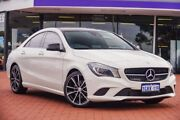2016 Mercedes-Benz CLA200 C117 806MY DCT White 7 Speed Sports Automatic Dual Clutch Coupe Maddington Gosnells Area Preview