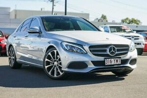 2016 Mercedes-Benz C-Class W205 806+056MY C250 7G-Tronic + Silver 7 Speed Sports Automatic Sedan Hillcrest Logan Area Preview