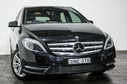 2012 Mercedes-Benz B200 W246 BlueEFFICIENCY DCT Black 7 Speed Sports Automatic Dual Clutch Hatchback