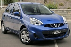 2016 Nissan Micra K13 MY15 ST Blue 5 Speed Manual Hatchback Lisarow Gosford Area Preview