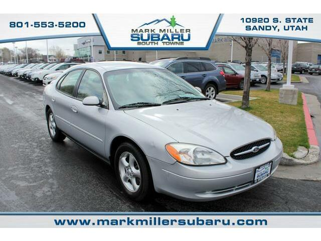 Ford : Taurus SES SES 71k miles Silver Auto 1 Owner CD AC 6 Passenger Cloth Seats