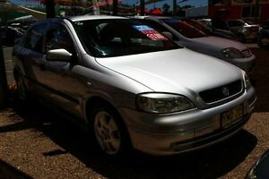 2002 Holden Astra TS CD Silver 5 Speed Manual Hatchback Colyton Penrith Area Preview