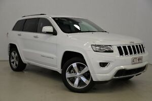 2013 Jeep Grand Cherokee WK MY2013 Overland White 6 Speed Sports Automatic Wagon Mansfield Brisbane South East Preview