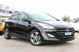 2016 Hyundai i30 GD4 Series II MY17 Active X Black 6 Speed Sports Automatic Hatchback Penrith Penrith Area Preview